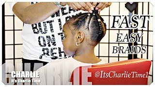 EASY Slim THICK Braids For SUMMER {Kids}