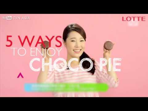 5 ways to enjoy Lotte Chocopie