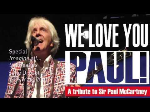Ebony and Ivory   - We Love You Paul !  - tribute to McCartney