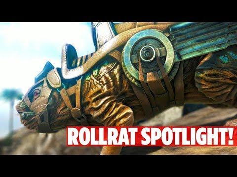 Download Youtube: 📌EXCLUSIVE! ABERRATION ROLL RAT DINO SPOTLIGHT! Ark: Survival Evolved Aberration