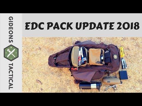 EDC Pack Update 2018!
