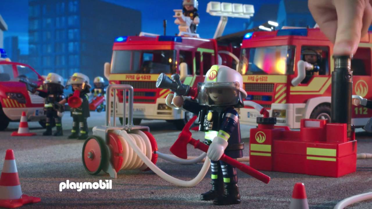 playmobil les pompiers fran ais youtube. Black Bedroom Furniture Sets. Home Design Ideas