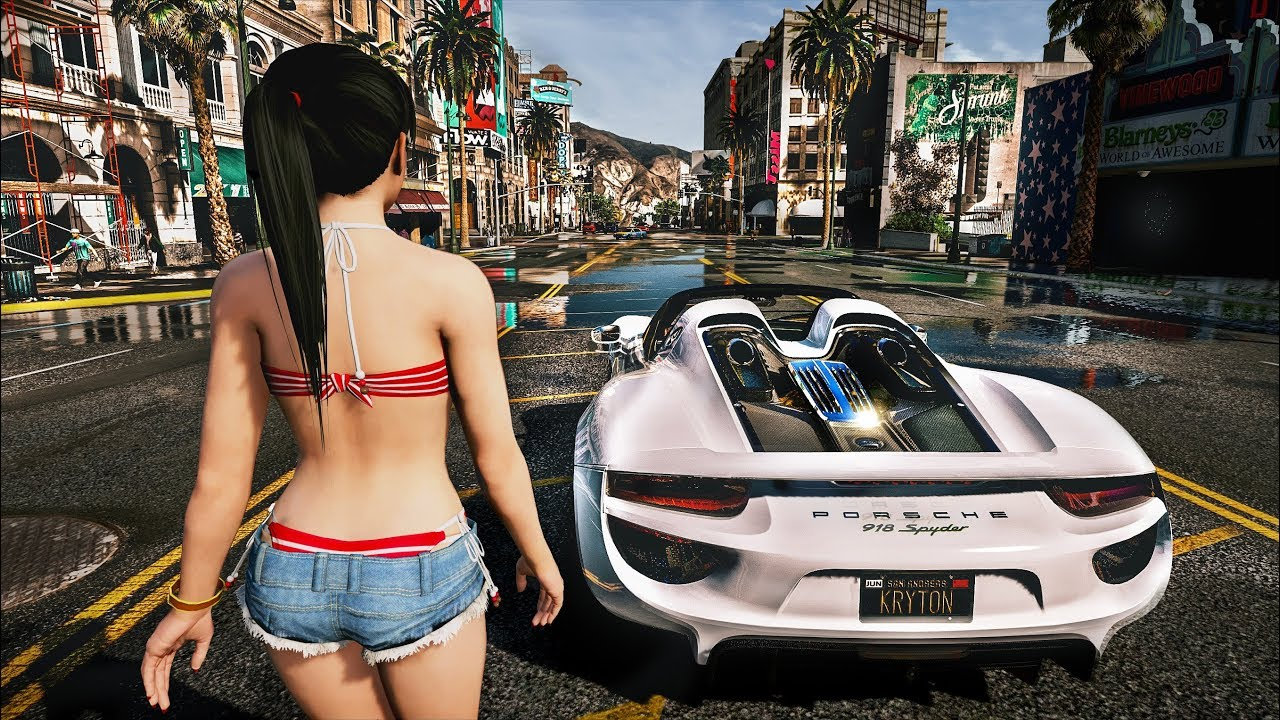 GTA 5 ✪ REDUX | NEW ULTRA REALISTIC Graphics MOD