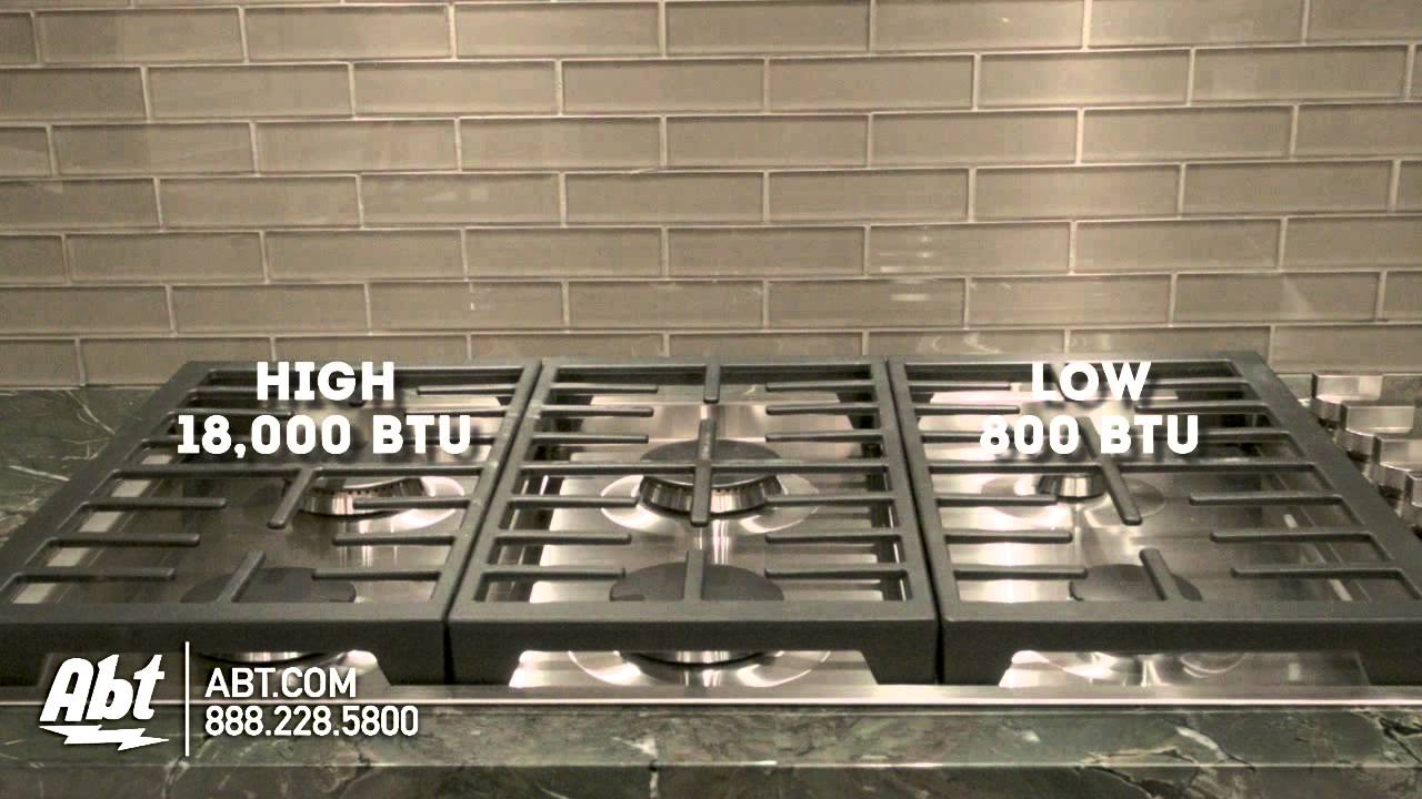 Jennair 36 Inch Cooktop Jgc7636b Features Youtube