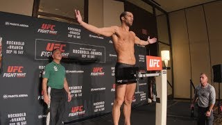Fight Night Pittsburgh: Official Weigh-in thumbnail