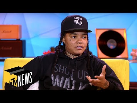 Young M.A Opens Up About Her Depression & Upcoming LP 'Her Story in the Making' | TRL