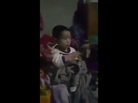 Nepali fuchey ko danger Gali (crazy child) must watch