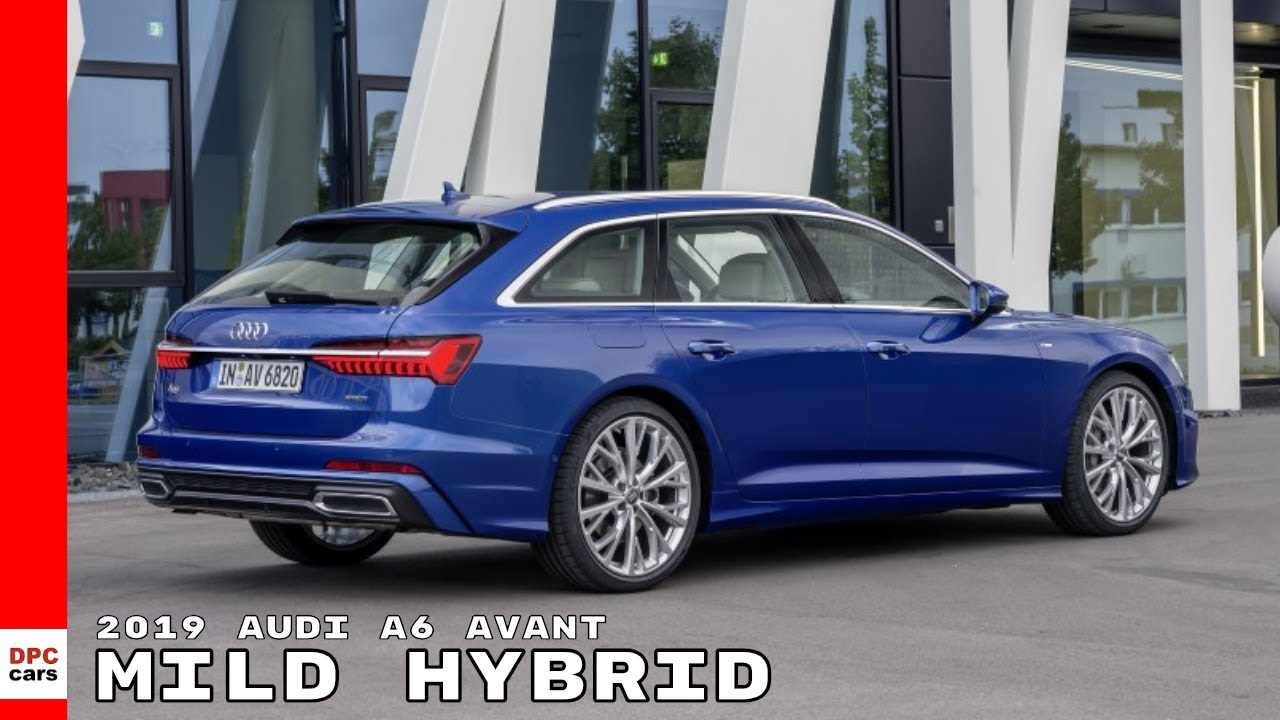 2019 Audi A6 Avant Animation Mild Hybrid Technology Mhev Youtube