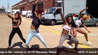 Unique Silver Dancers take Afrobeats and Azonto to Poland!! workshop in Uanga