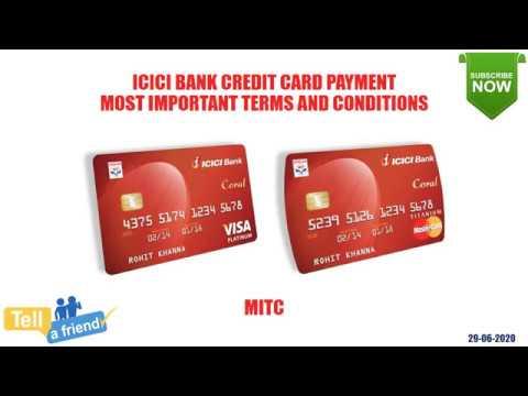 complaints icici bank credit card