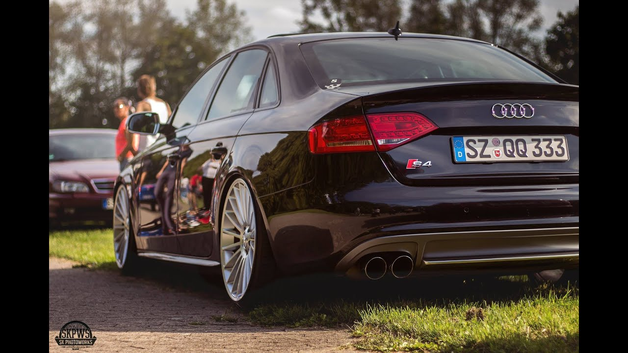 Brutal Audi B8.5 exhaust sounds A4 S4 - YouTube