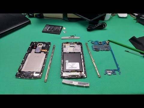 How to Disassemble LG V10 for Repair! - TEARDOWN!!!