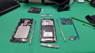 How to Disassemble LG V10 for Repair! - TEARDOWN!!!