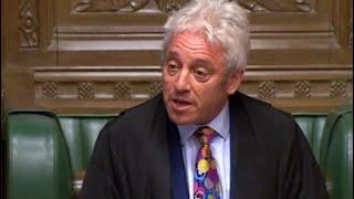 Britischer Parlamentssprecher: John Bercow kündigt Rücktritt an