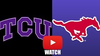 TCU vs SMU Week 2 Full Game Highlights (HD)