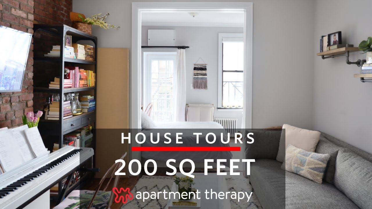 A 200 Square Foot Studio House Tours Apartment Therapy