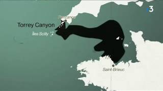 Le Torrey Canyon, la première des marées noires