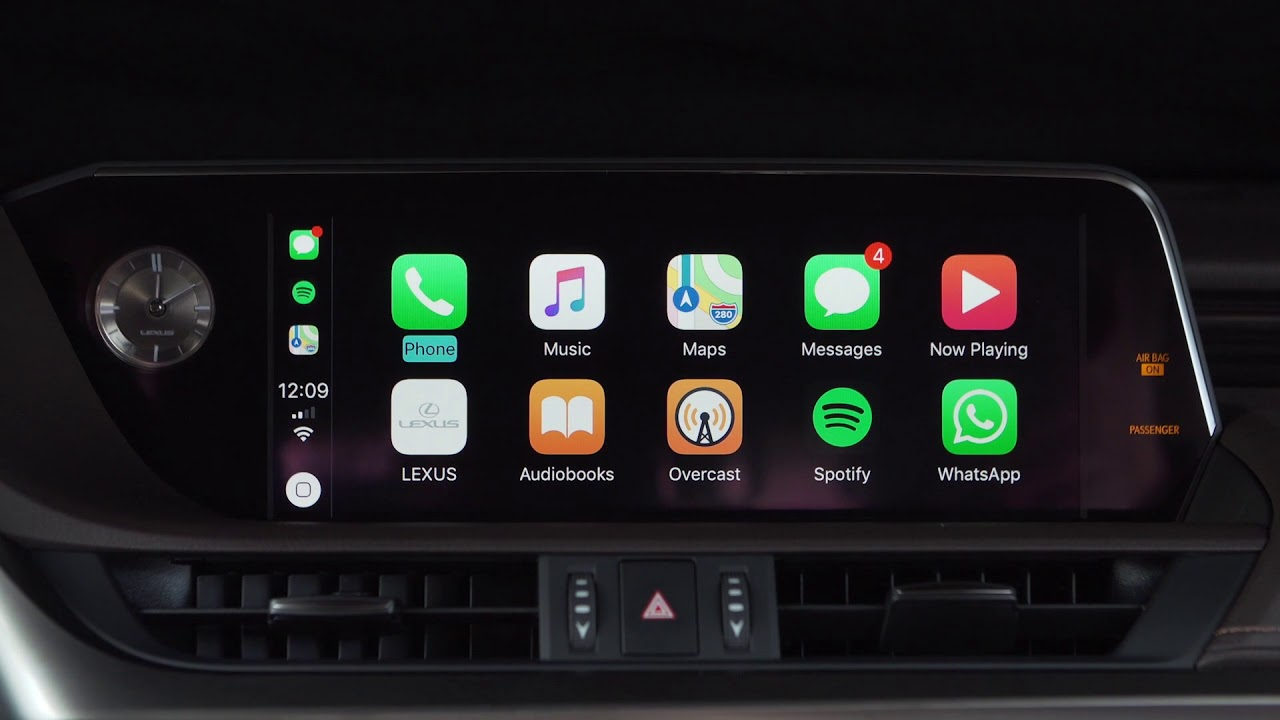 Apple CarPlay Added to Lexus LS Sedan, LC Coupe, RC Coupe, and NX