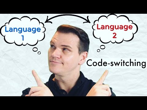 CODE-SWITCHING: Jumping Between 2 Different Languages
