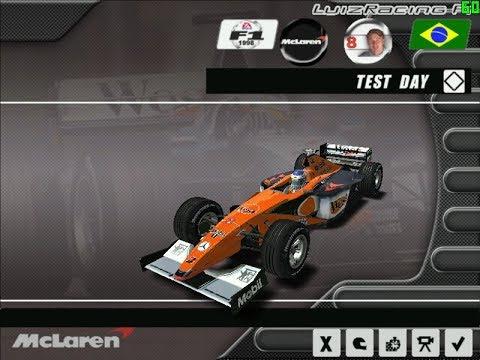 F1 Challenge 1998 - Mclaren Orange Skin Mod - Skin Change