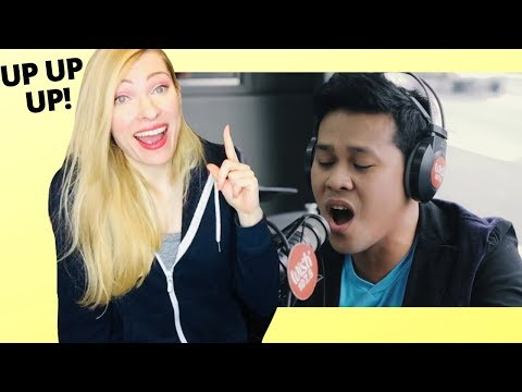 Vocal Coach Reacts: Marcelito Pomoy The Power of Love Celine Dion Wish 1075 Bus
