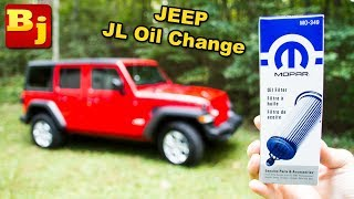 How To Change Oil in the New Jeep JL