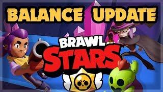 Brawl Stars BALANCE UPDATE for Jan/Feb ????