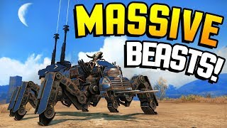 Crossout - MAKE IT RAIN! These MASSIVE Beasts Are INSANE! (Crossout Gameplay)