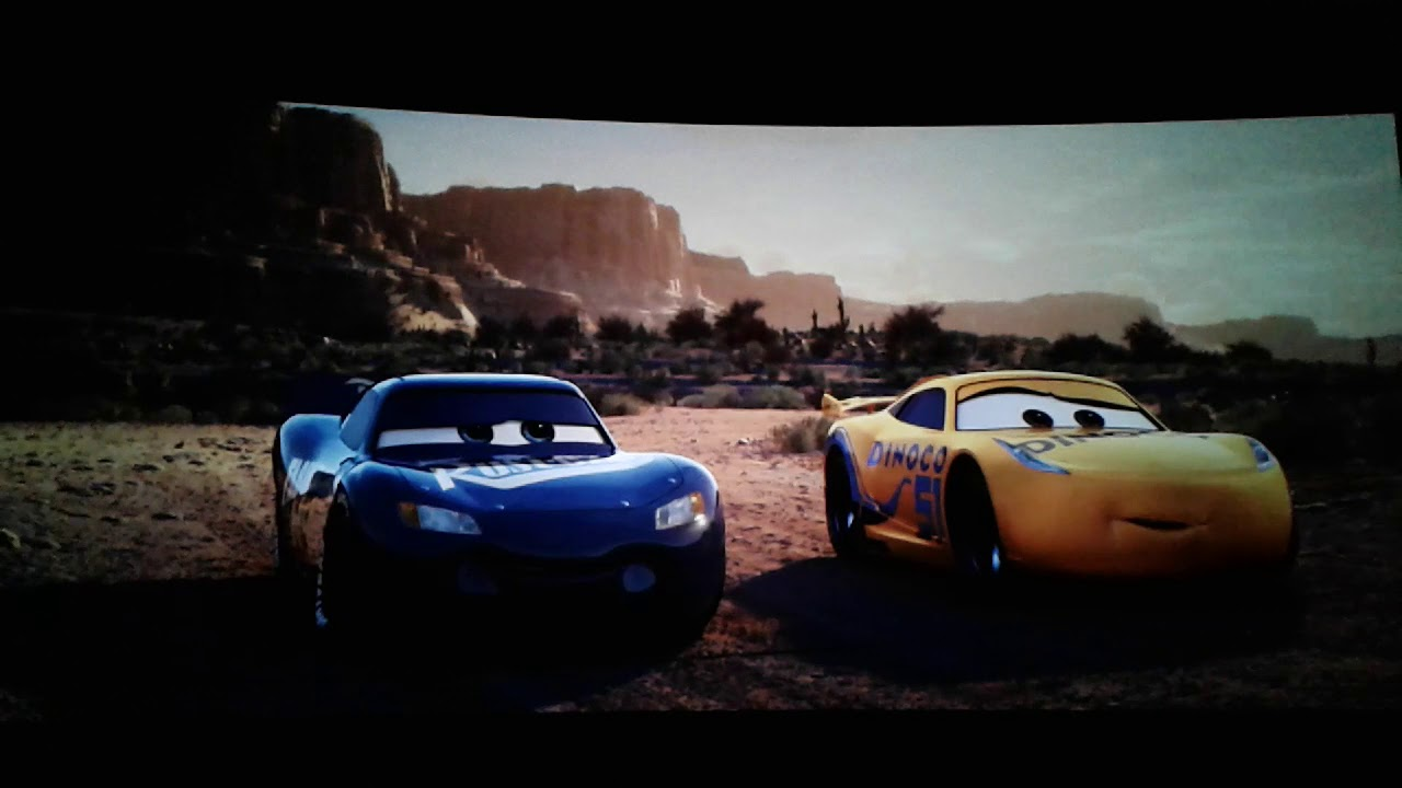 Cars 3 Cruz Ramirez Races With Lightning Mcqueen Ending