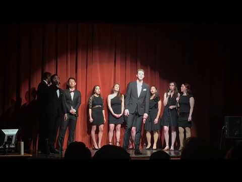 "UT Law Medley - Give Me One Interview (""Can't Take My Eyes Off of You"") [2018 Spring Show"