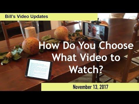 Download Youtube: Bill's Video Updates