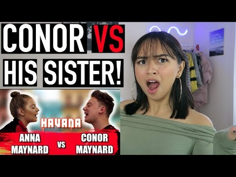 Conor Maynard vs Little Sister SING OFF REACTION