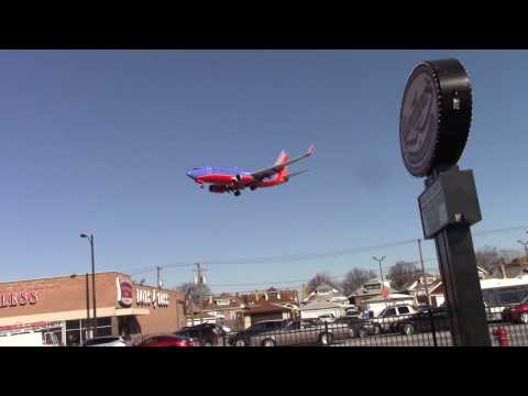 Planespotting at Chicago Midway Airport 3/15/2017