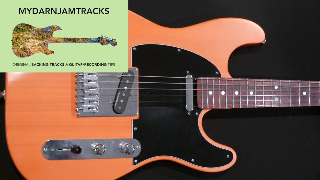 Download Andy Timmons Style Backing Track in E
