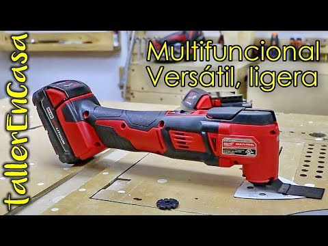 Multiherramienta oscilatoria Milwaukee a batería Unboxing