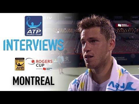 Schwartzman Reflects On Saving Match Points Montreal 2017