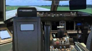 FS2004 - Singapore Airlines B777-312ER departing Changi