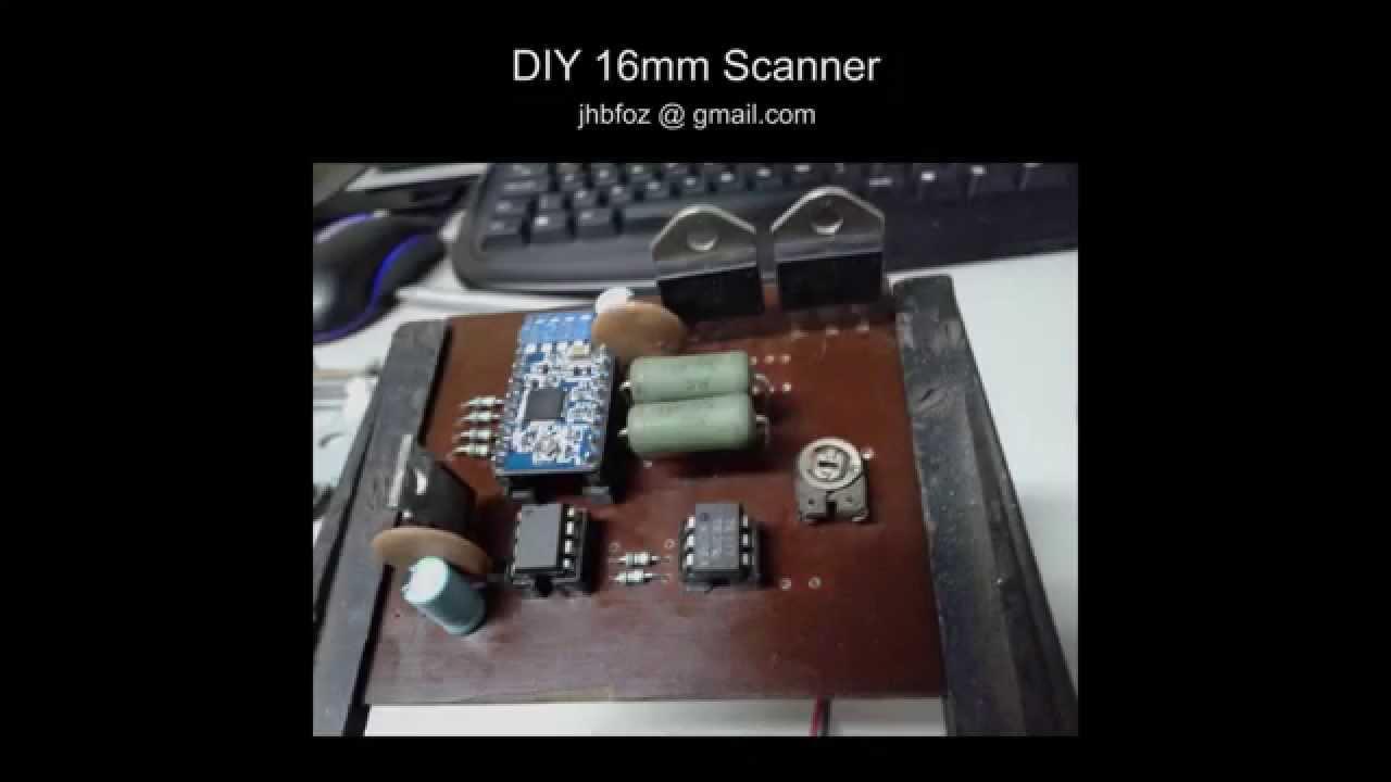 diy 16mm scanner film transfer youtube
