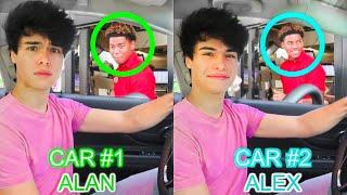 Identical Twins 2Car DRIVE THRU Prank