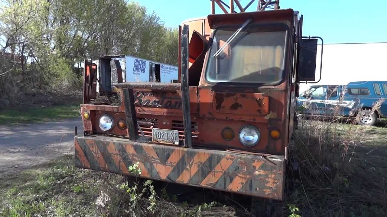 Bantam Crane Truck - Junk Yard Finds - YouTube