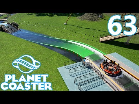 Planet Coaster - Part 63 - Starting the River Rapids!