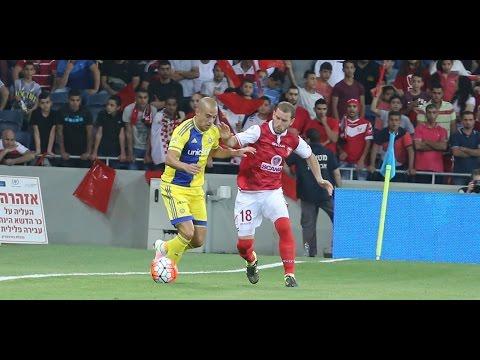 חצי גמר גביע המדינה: בני סכנין - מכבי תל אביב 3:2, תקציר המשחק. 21.4.16
