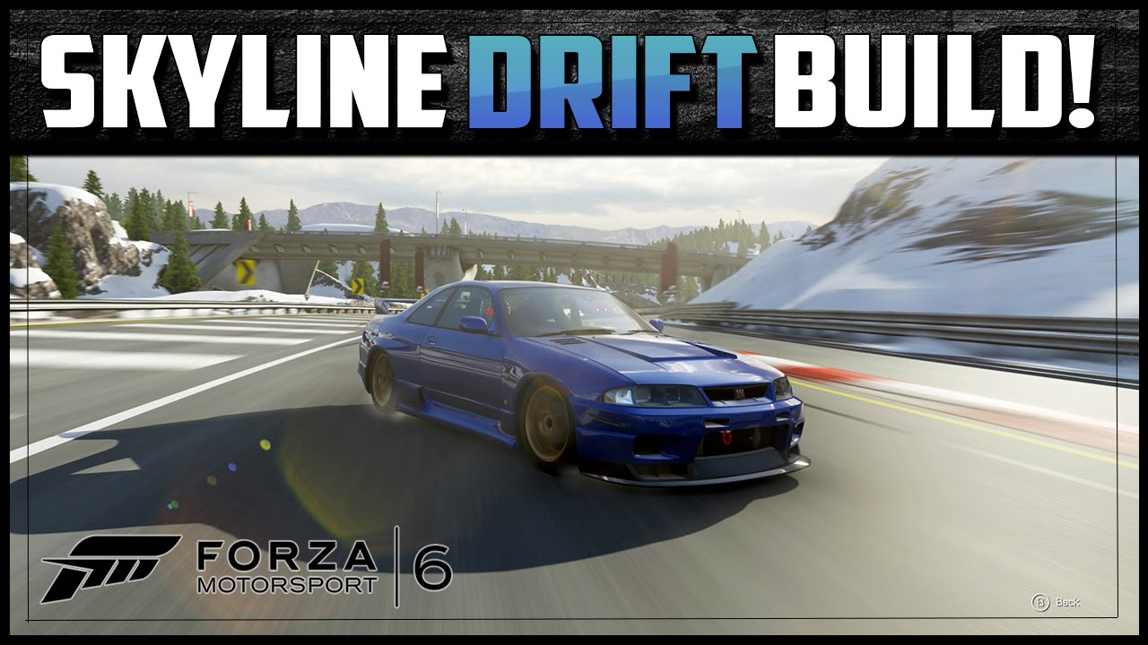 Forza Motorsport Skyline Gt R Drift Build Best Beginners