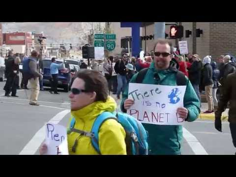 NorthWestern Energy: Butte, America Climate March