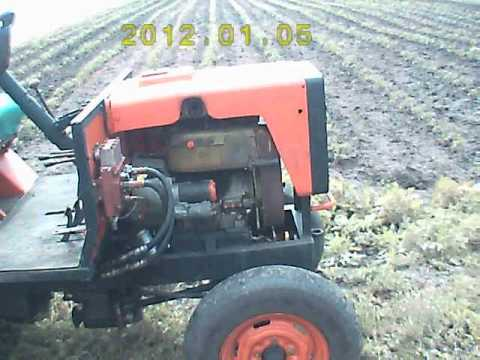 видео: Обзор самодельного трактора