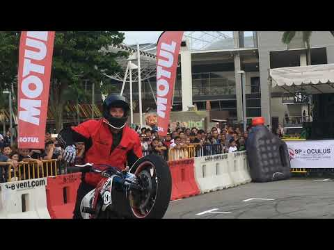 SINGAPORE Bike stunt show 2017  Expo