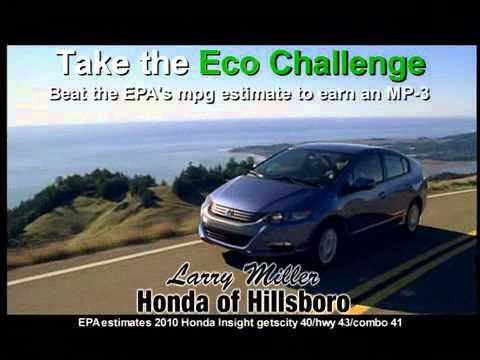 High Quality Larry Miller Honda TV Commercial   Eco Challenge
