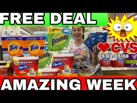 🔥**CVS** Couponing  Deals this Week! 05/02-5/08 **FREE PRODUCTS**