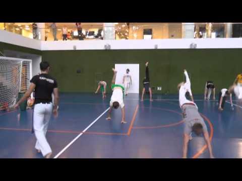 Открытый урок Capoeira в mail.ru 7.08.2013
