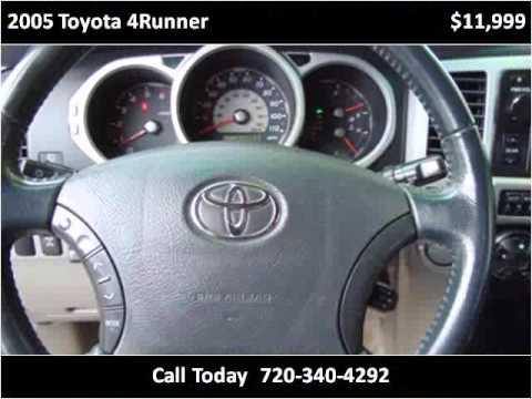 2005 toyota 4runner used cars longmont co youtube for Victory motors trucks longmont